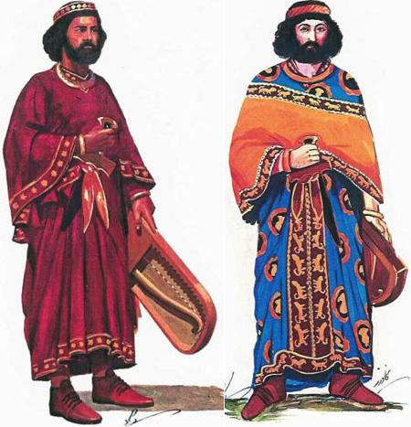 Istorija odevnih predmeta - Page 4 Achemenid-persian-officers