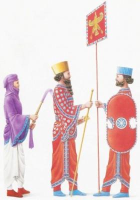 Istorija odevnih predmeta - Page 4 Dvorski-evnuh-king-xerxes-i-kraljevski-kopljonosacnick-sekunda-the-persian-army-osprey-publications-1992-plate-b-e1321556108503