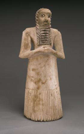 Istorija odevnih predmeta - Page 4 Standing-male-worshipper-2750e280932600-b-c-early-dynastic-period-ii-sumerian-style-e1321451697370
