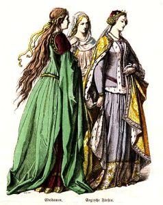 Istorija odevnih predmeta - Page 5 Ladies-in-waiting-english-princess