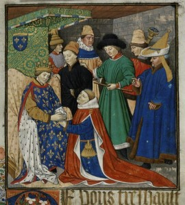 Istorija odevnih predmeta - Page 5 Medieval-mens-hats-many-styles