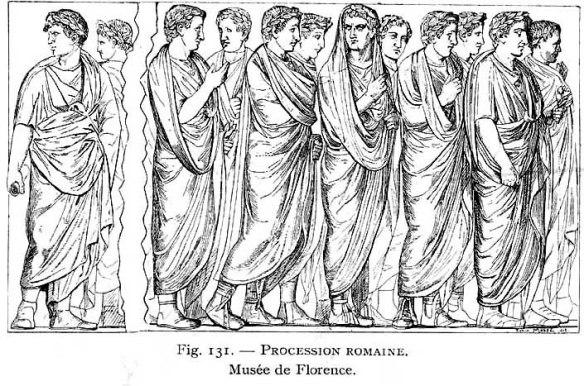 Istorija odevnih predmeta - Page 4 Rimska-procesija