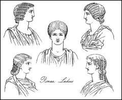 Istorija odevnih predmeta - Page 4 Romanladieshairdos