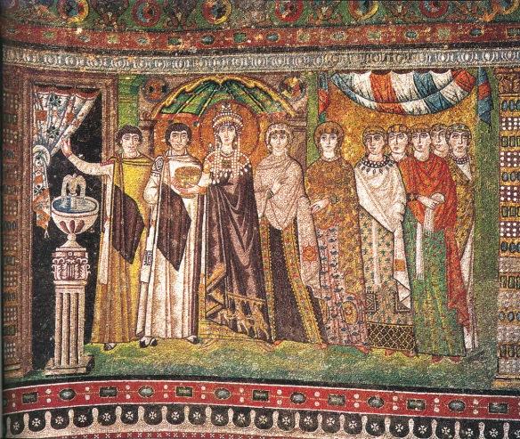 Istorija odevnih predmeta - Page 4 Theodoramosaicsanvitale1