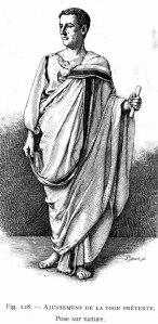 Istorija odevnih predmeta - Page 4 Toga-praetexta-1