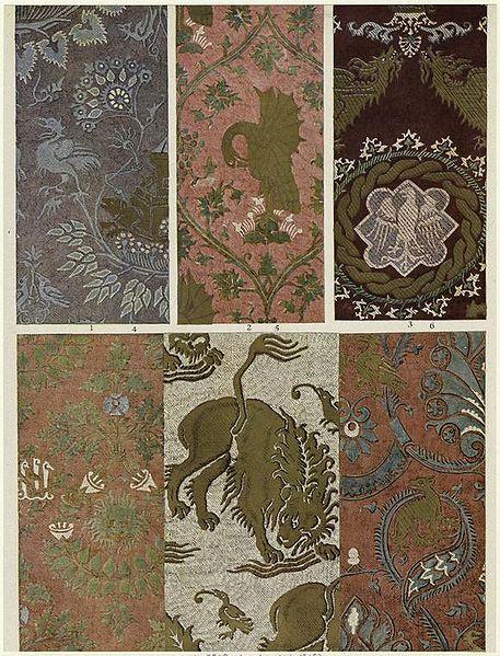 Italijanske svilene tkanine (damast)