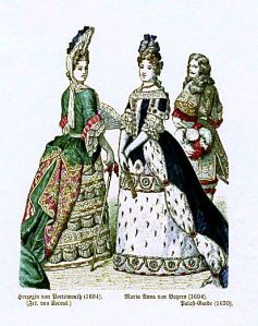 Istorija odevnih predmeta - Page 6 Duchess-of-portsmouth-louise-de-keroualle-1694-maria-anna-of-bavaria-1694-palace-guard