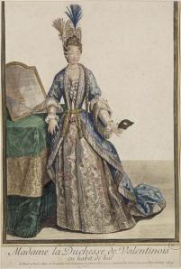 Istorija odevnih predmeta - Page 6 Marie-de-lorrraine-duchesse-de-valentinois-en-habit-de-bal-versailles