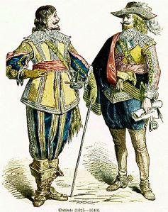Istorija odevnih predmeta - Page 6 Noblemen-1625-1640