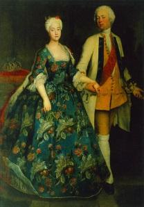 Istorija odevnih predmeta - Page 6 1734-princess-sophie-dorothea-with-friedrich-wilhelm-by-antoine-pesne