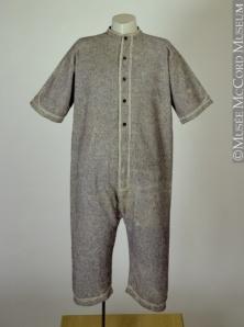 Men's bathing suit 1860s The McCord Museum