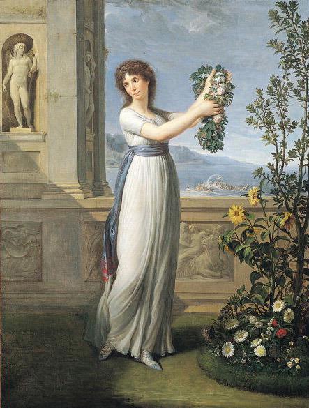 Žozefina Bonaparte de Boarne, Andrea Apiani, 1796.