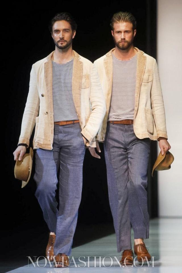 Giorgio Armani, Menswear, Spring Summer, Milan, 2013