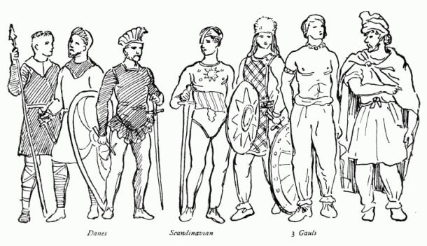 Dani, Skandinavci i Gali