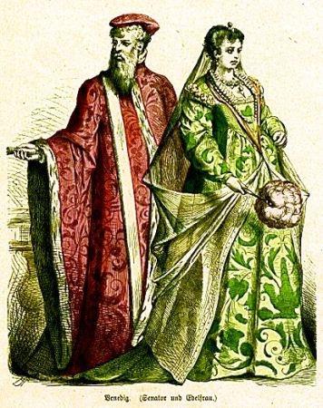 Venecijanski senator i plemkinja