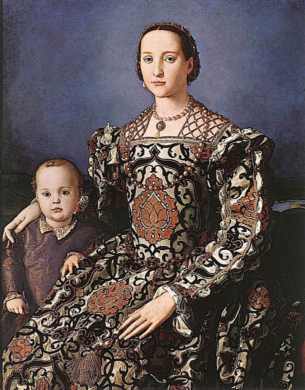 Eleonora od Toleda, Bronzino, 1550.