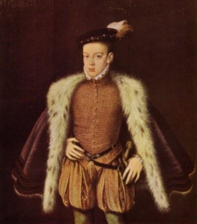 Princ Karlos, 1556.