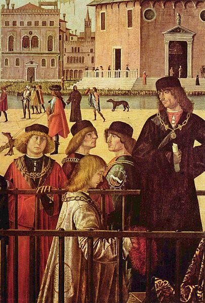Muška moda krajem XV veka