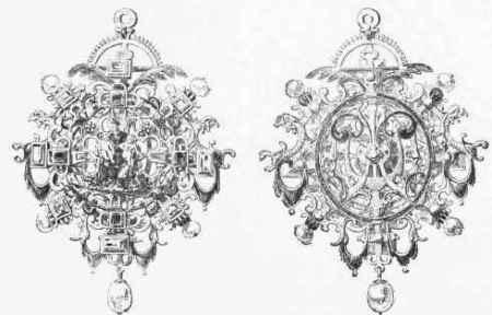 Privezak za ogrlicu sa dva lica