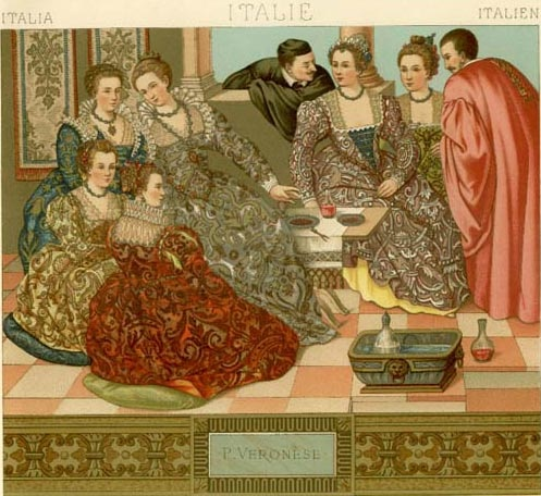 Moda krajem XVI veka