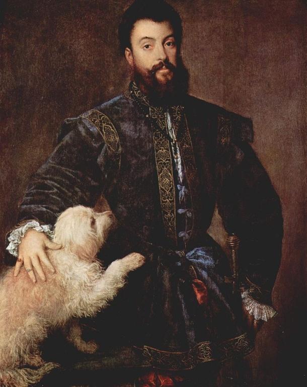 Frederiko Gonzaga (Ticijan, 1525.)