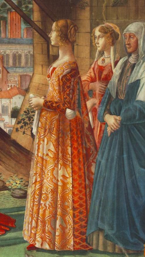 Ženska moda krajem XV veka