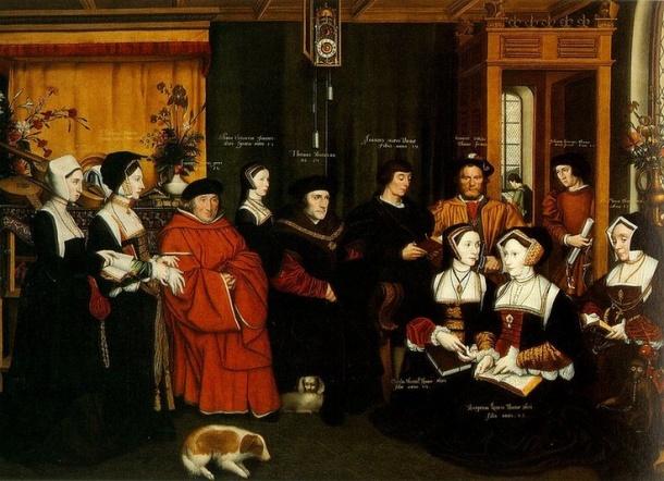 Porodica ser Tomasa Mora (1520-e)