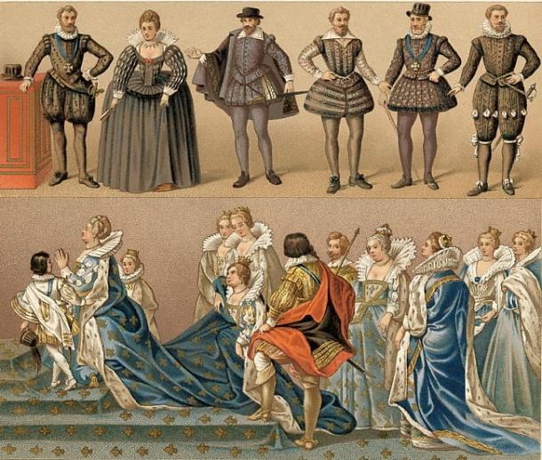 Kostim u doba Marije Mediči