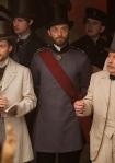 Ovaj kostim je sveden na osnovne crte ruske uniforme perioda.