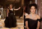 Kada se zaljubi u Vronskog, Anini kostimi postaju svetliji, odslikavajući njene emocije i raspoloženje, da bi opet postali tamni sa rastom njenih nemira i strahova.