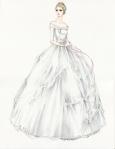Kostimi za Kiti su inspirisani viktorijanskim dečji kostimima. Sa njenim sazrevanjem, boje se menjaju od dečjih pastela, do sofisticiranih bež i šampanj tonova.