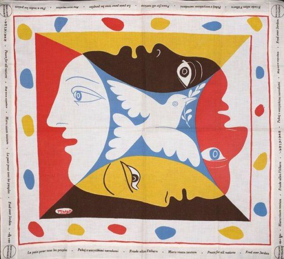 "PIkaso, marama ""Golubica"", 1951."